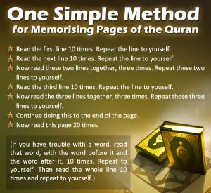 Quran-memoraization